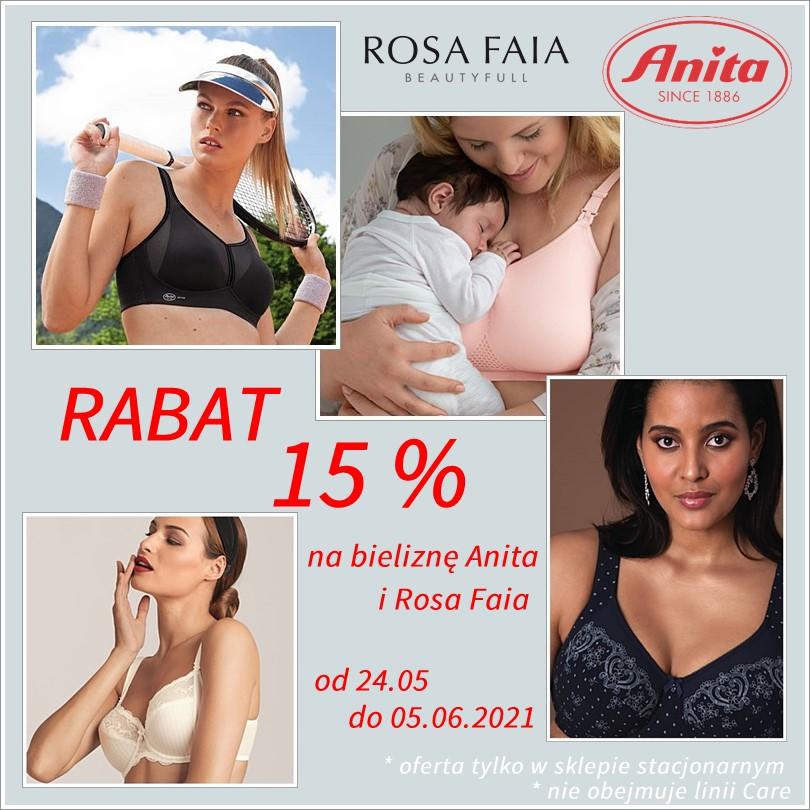 Rabat na bieliznę Anita